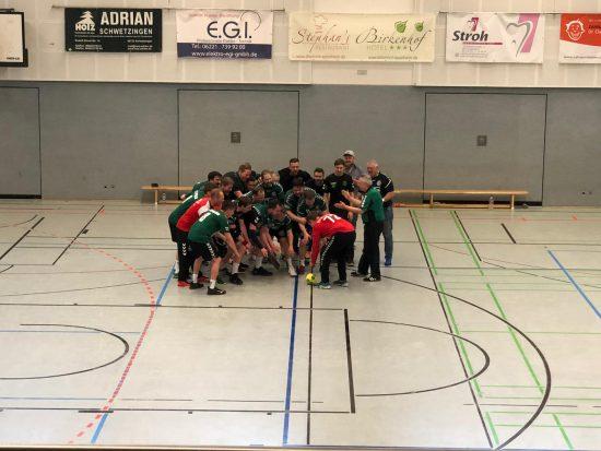 1. Kreisliga (Männer): TV Eppelheim II – PSV Knights HD 27:12