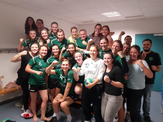 Landesliga Nord (Frauen): TV Eppelheim – SGH Waldbrunn/Eberbach 32:25 (14:13)